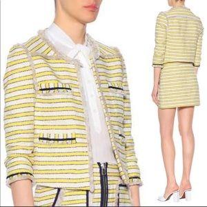 """VERÓNICA BEARD """"Talie"""" striped tweed  jacket"""